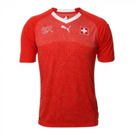 Jersey Switzerland Puma Home 2018