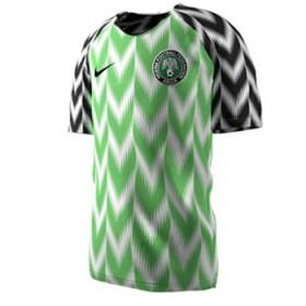 Nike Jersey Nigeria Home 2018