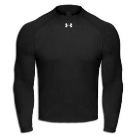Under Armour manga larga negro